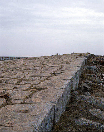 Syria, Roman road built by Trajan that runs between Antioch and Aleppo