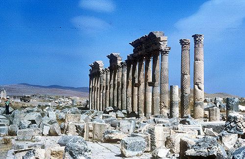 Syria, Apamea, columns of Corinthian order 2nd century AD