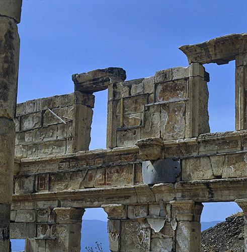 Syria, Apamea, Roman remains