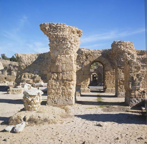 Thermal baths of Antoninus Pius, Carthage, Tunisia