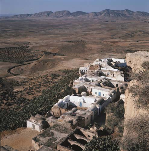 Village of Takrouna, Tunisia