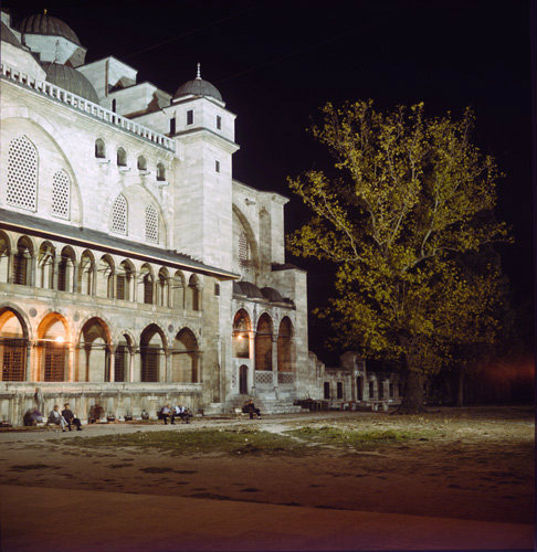 ... Mosque built by Sinan in the 16th century for Suleyman The Magnificent