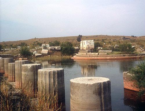Harbour monument, Miletus, Turkey