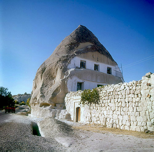 Cone dwelling, Macan, Cappadocia, Turkey