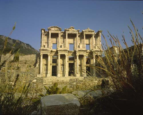 Library of Celcus at Ephesus, 2nd century, Turkey