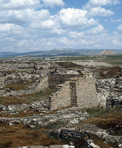 Turkey, Gordion, capital of Phrygia from the 9th century BC.