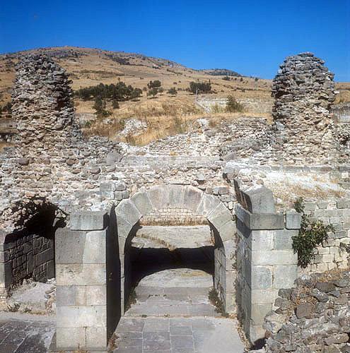 Asclepeion, Hellenistic and Roman medical centre Pergamum, Turkey