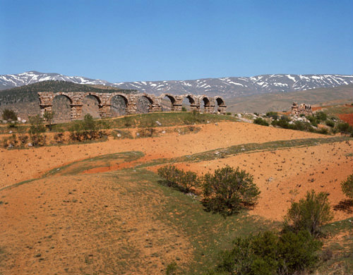 Turkey Antioch in Pisidia, Roman aqueduct