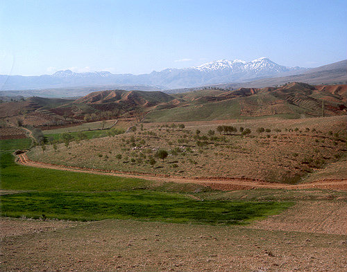 General view of Antioch in Pisidia, Turkey