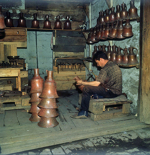 Coppersmith, Trabzon, Turkey