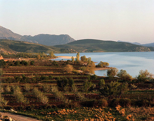 Lake Egridir, Pisidia, south of Antioch,Turkey