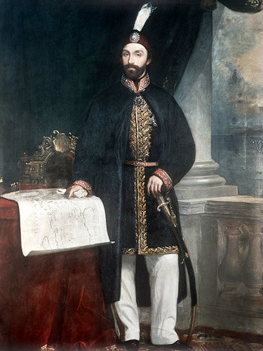 Sultan abdulmecid i portrait in the topkapi palace museum for Amida house istanbul