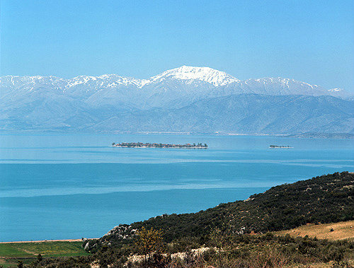 Lake Egridir, south of Antioch, Pisidia, Turkey
