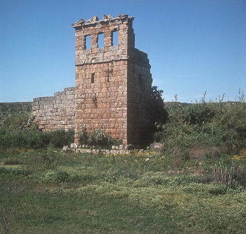 Turkey, Perge, Hellenistic tower