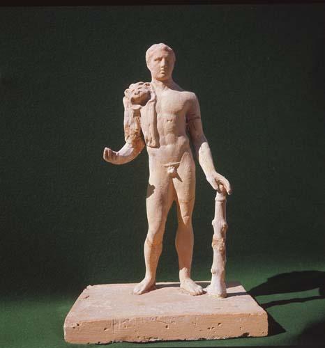 Hercules, Roman sculpture, Manisa, Turkey