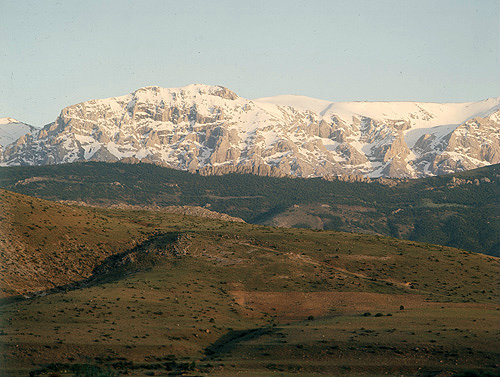 Northern range of the Taurus mountains, where St Paul came on his second and third  journeys, Turkey