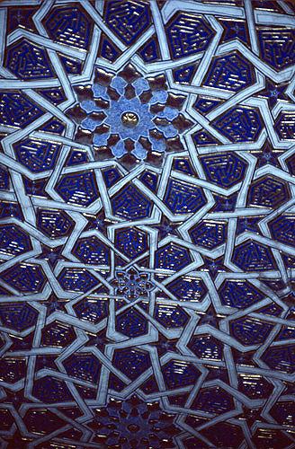 Uzbekistan, Samarkand, Gur Emir mausoleum, Tamurlane