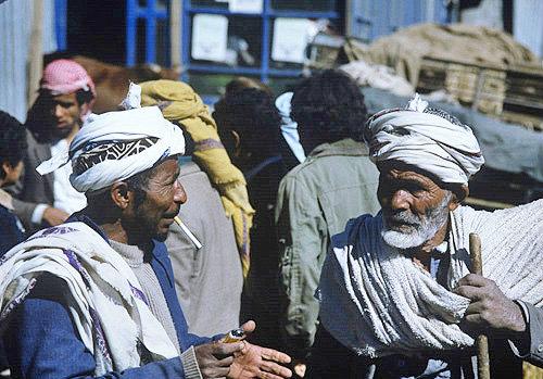 Market at Al Hammad, Yemen