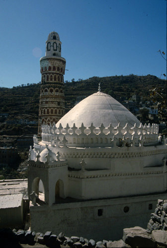Yemen Jibla the Great Mosque
