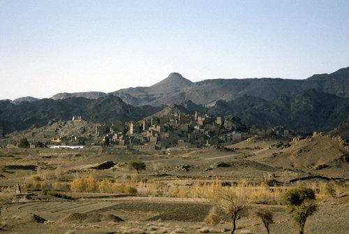 Yemen, village of el Abbas