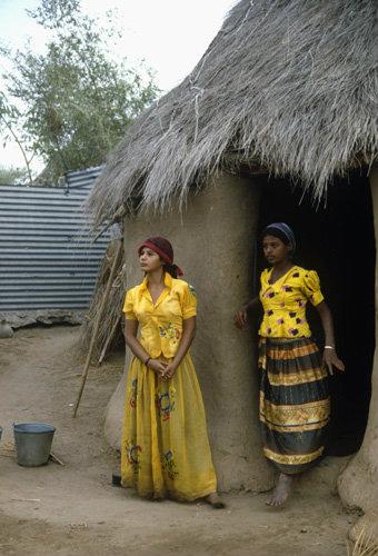 Yemen young village women