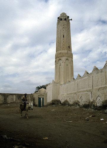 Yemen Zabid Great Mosque exterior