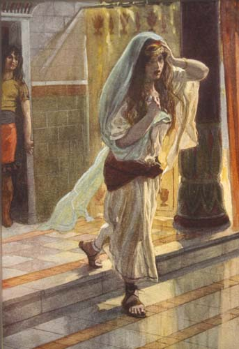 Desolation of Tamar, 19th century painting by James Tissot, Great Britain