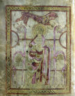 Lichfield Gospels, 720-730, insular gospel book, also known as Chad Gospels or Book of Chad, St Mark