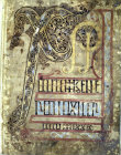 The Lichfield Gospels otherwise known as the Chad Gospels or Book of Chad, the Second Beginning of St Matthews Gospel, 720-730 AD