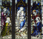 Adoration of the Magi, Church of St Peter and  Paul,  Aldeburgh, Suffolk, 19th century stained glass