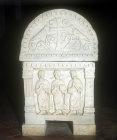 Christian Sarcophagus, Sant
