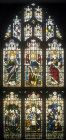 Window 26, twentieth century, north aisle,  St Edmundsbury Cathedral, Bury St Edmunds, Suffolk, England