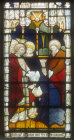 Election of Matthias, window 11, nineteenth century, south aisle, St Edmundsbury Cathedral, Bury St Edmunds, Suffolk, England