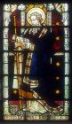 St Barnabas, window 7, nineteenth century, St Edmundsbury Cathedral, Bury St Edmunds, Suffolk, England