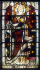 St Clement, window 10, nineteenth century, south aisle, St Edmundsbury Cathedral, Bury St Edmunds, Suffolk, England