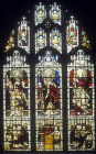 Window 6, nineteenth century, south aisle, St Edmundsbury Cathedral, Bury St Edmunds, Suffolk, England