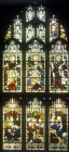 Window 8, nineteenth century, south aisle, nineteenth century, St Edmundsbury Cathedral, Bury St Edmunds, Suffolk, England