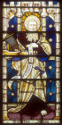St Jude the Apostle, window 8, nineteenth century, south aisle, St Edmundsbury Cathedral, Bury St Edmunds, Suffolk, England