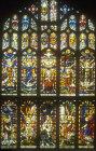 Creation, window 29, nineteenth century, north aisle, west window, St Edmundsbury Cathedral, Bury St Edmunds, Suffolk, England