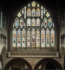 Great East window, fourteenth century, Exeter Cathedral, Devon, England