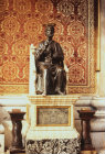 Statue of St Peter in St Peter