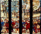 Henry VIII embarking for France, nineteenth century, Maison Dieu, Dover, England