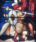 Detail from Henry VIII embarking for France, nineteenth century, Maison Dieu, Dover, England