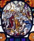 Betrayal of Christ, seventeenth century Flemish roundel, St Mary