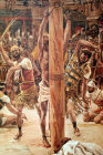 The Scouring of the back, 19th century painting by James Tissot