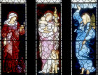 Faith, Hope and Charity, Burne Jones,1887, St Martin