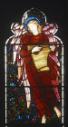 England, Brampton, Cumbria, St Martins Church, east window top row right by Burne-Jones 1880-81