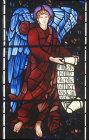 England, Brampton, Cumbria, St Martins Church, east window detail middle row left  by Burne-Jones 1880-81