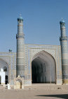 Afghanistan, Herat, Friday Mosque entrance