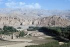 Afghanistan, Bamiyan valley and Big Budda destroyed by Taliban soldiers in 2001